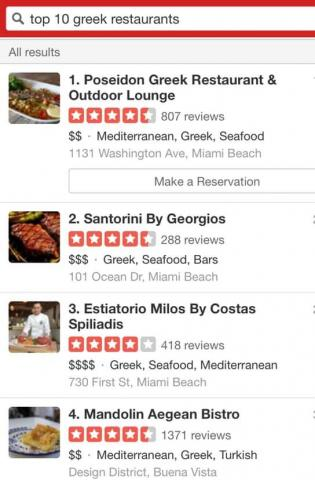 Yelp Top 10 Greek Restaurants In Miami Poseidon Miami